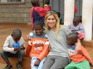 Veronica at New Hope Orphanage