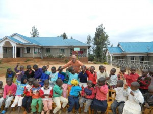 Richard Smiley at New Hope Orphanage