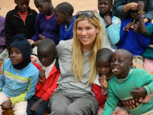 Veronica Smiley at New Hope Orphanage