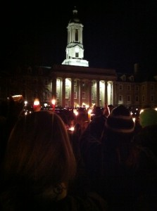 Old Main Vigil