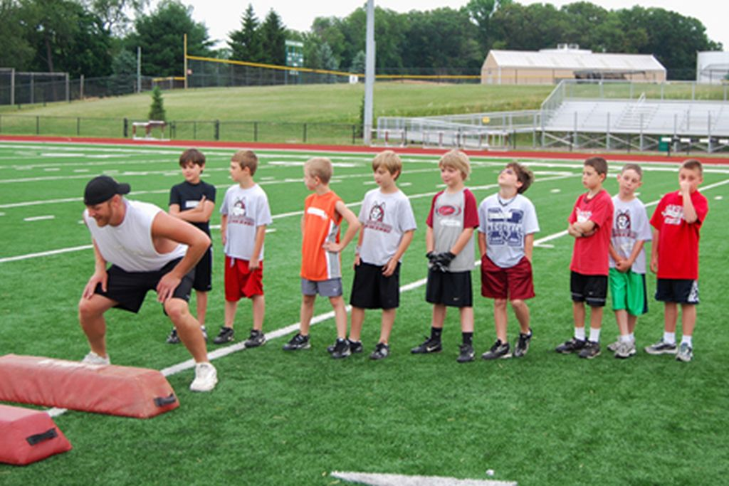 More than Football: BU Camps Develop Character